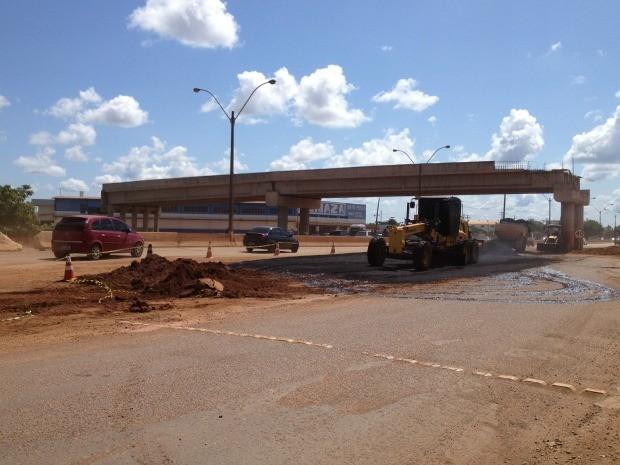 Obras dos viadutos de Porto Velho devem iniciar em setembro (Foto: Ivanete Damasceno/G1)