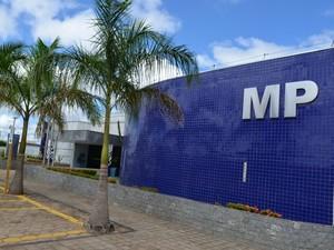 Sede do Ministério Público de Vilhena (Foto: Jonatas Boni/G1)