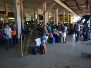 Empresa terá que investir R$ 3 mi na rodoviária de Ariquemes (Foto: Franciele do Vale/G1)