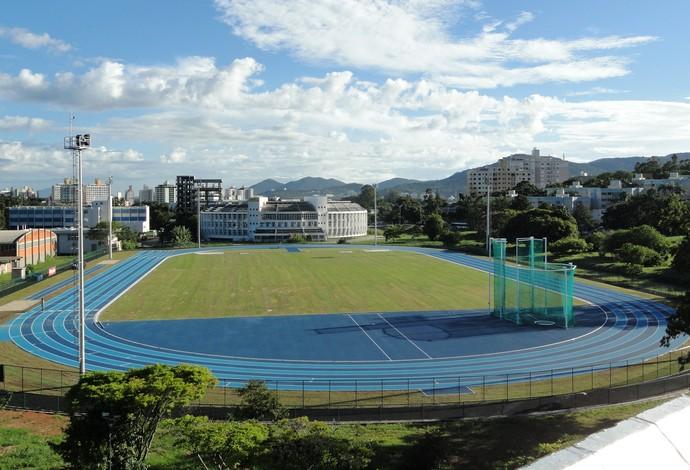 Pista de atletismo da UFSC (Foto: Jair Quint / Divulgação Agecom/DGC/UFSC)