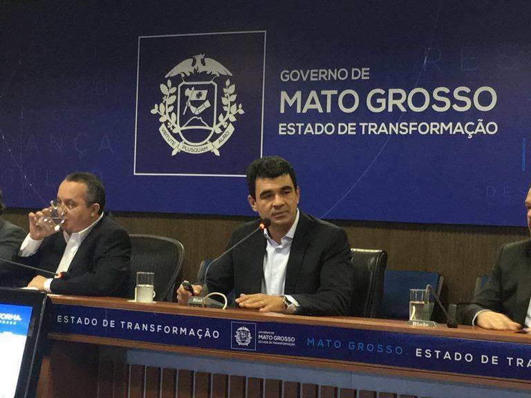 Governador anuncia duplicação de todas as saídas de Cuiabá