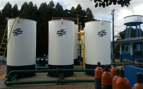 Obras da Sanepar na região somam investimentos de R$ 4,4 mi