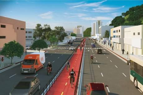 Leitão da Silva terá seis pistas e ciclovia ao longo de toda extensão
