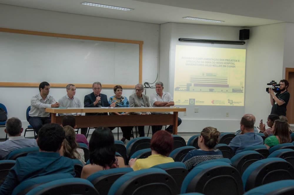 Governo Taques e UFMT definem detalhes para o novo hospital Júlior Muller