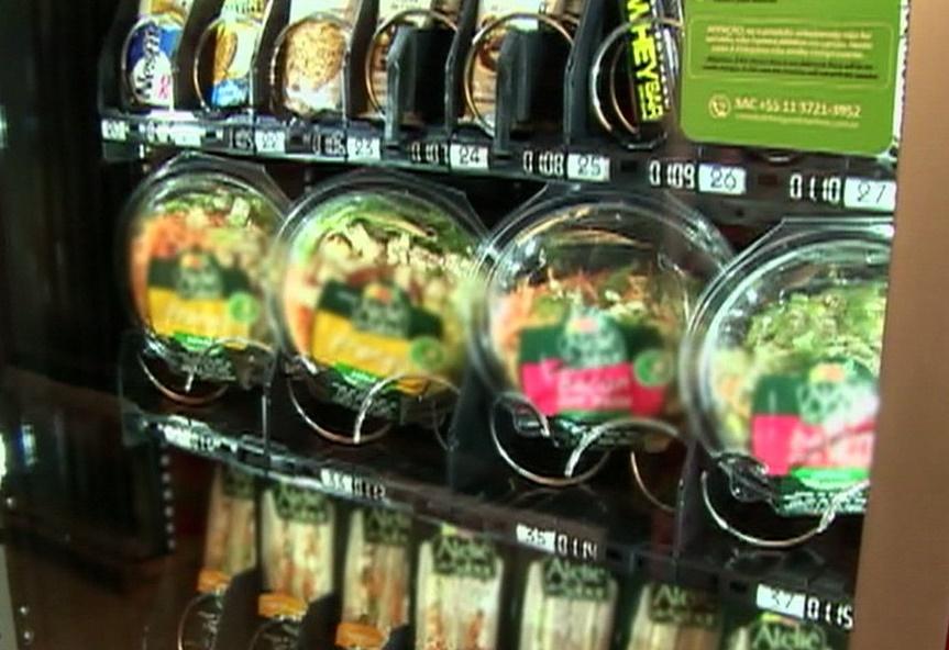 Máquinas de vender comida vão substituir barracas na UFPB