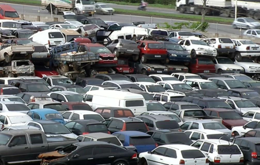 Detran-ES fará leilões semanais de veículos apreendidos a partir de dezembro