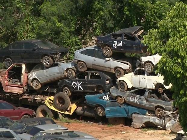 Veículos não são guinchados por falta de pátio, no Sul do ES