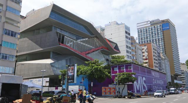 Nova sede do MIS em Copacabana está com obras paradas há um ano