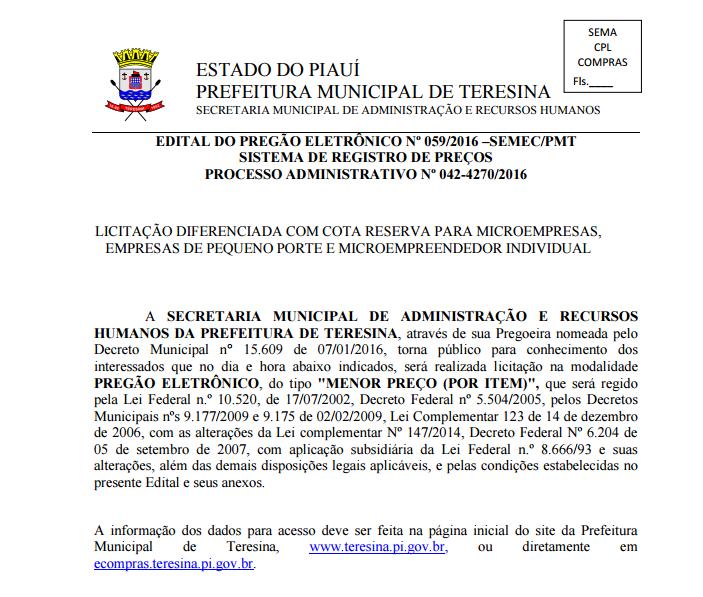 PMT faz licitação de até R$ 11 milhões para fogões e ar-condicionados