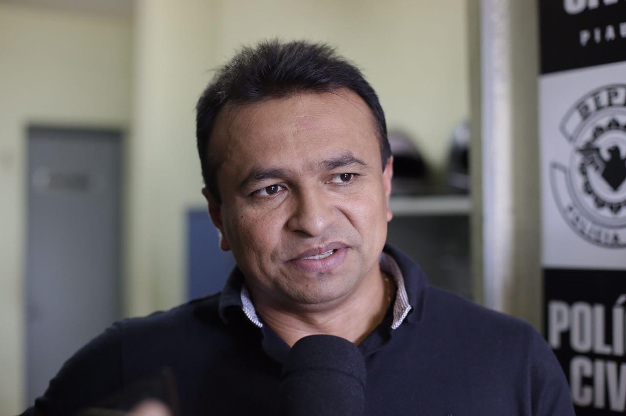 Secretário de Segurança, Fábio Abreu.