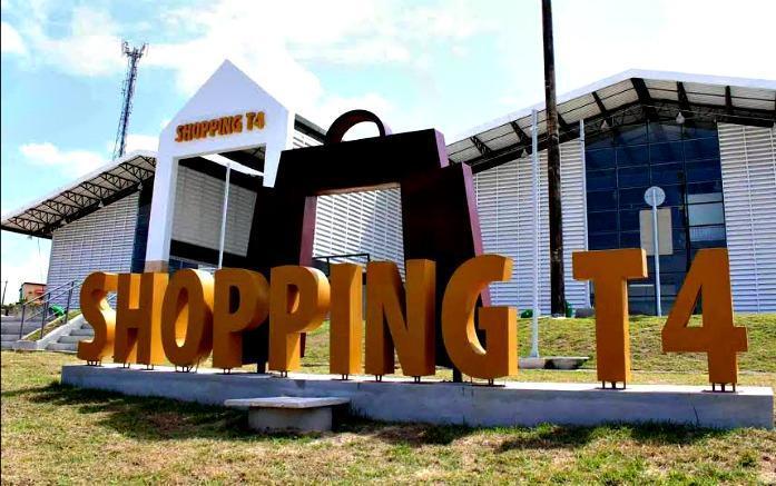 Expectativa da prefeitura é de que o Shopping T4 seja aberto ao público no dia primeiro 1º de maio. Divulgação/ Semcom