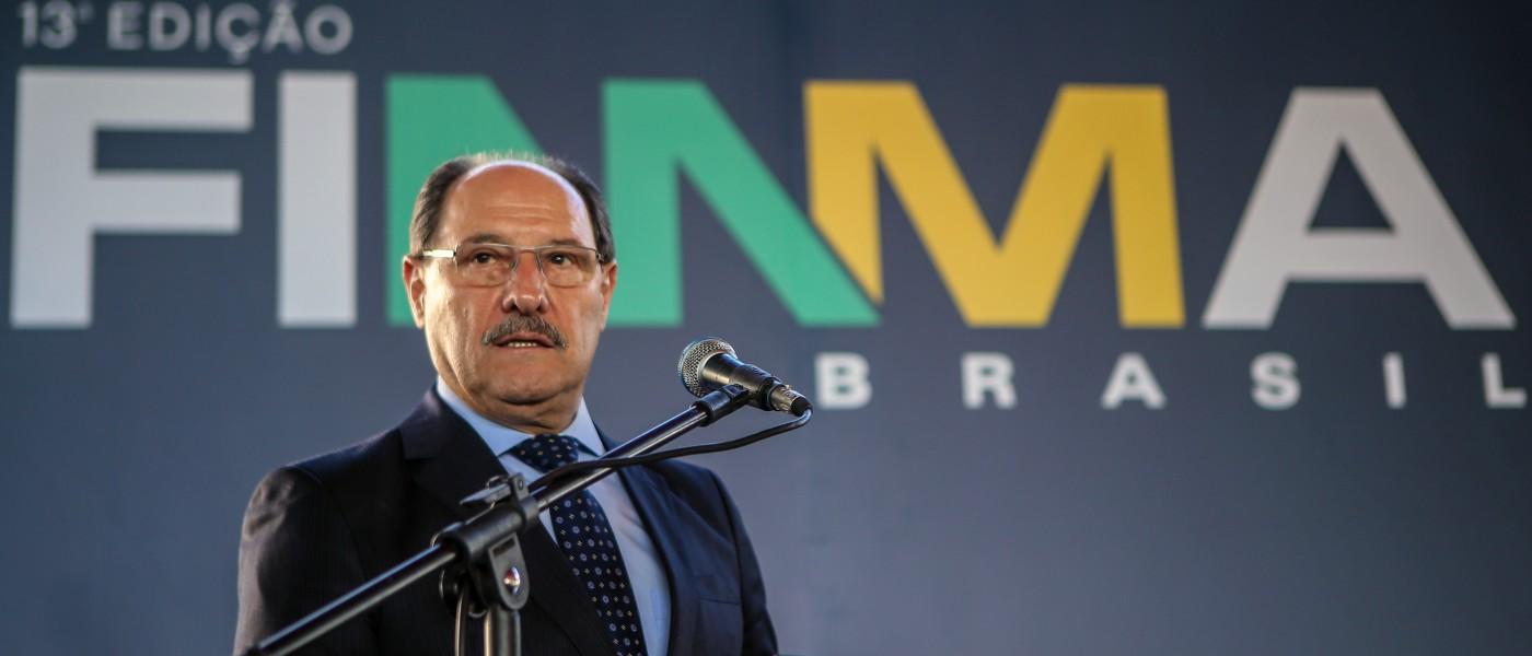 Anúncio ocorreu em discurso do governador na inauguração da 13ª Fimma Brasil, em Bento Gonçalves – Foto: Karine Viana/Palácio Piratini