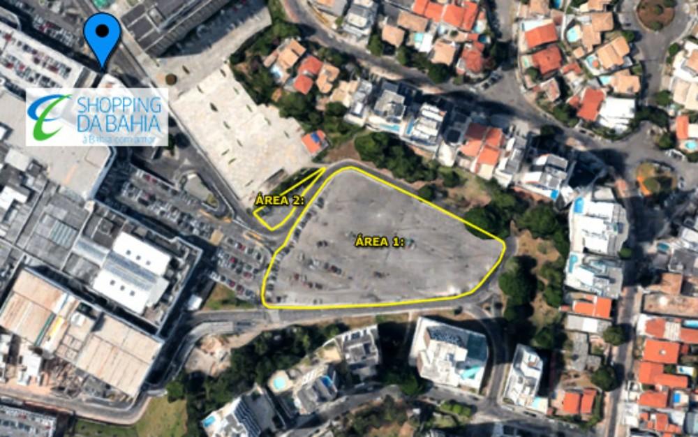 Prefeitura anuncia venda de dois terrenos ao lado de shopping em Salvador