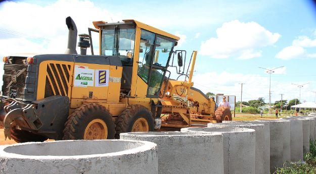Restauração e pavimentação de vias urbanas recebem R$ 25 milhões em MS