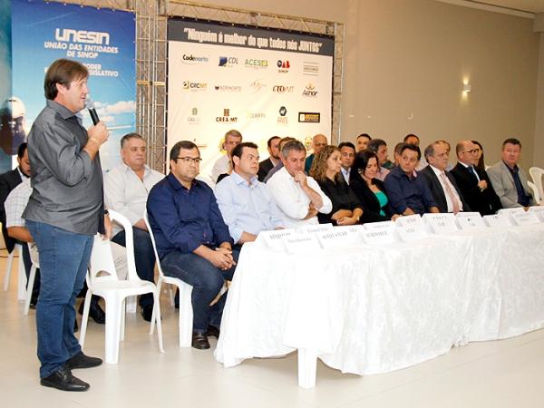 Unesin lança mobilização para melhorar estrutura do aeroporto de Sinop