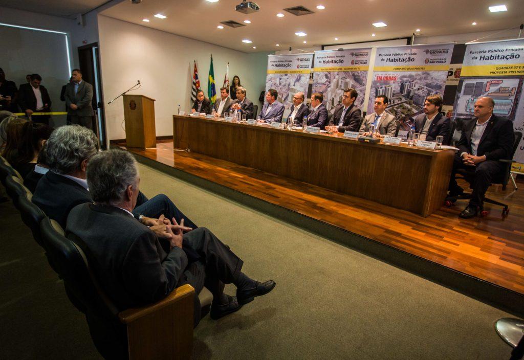 Alckmin anuncia ampliação da PPP da Habitação no centro de SP