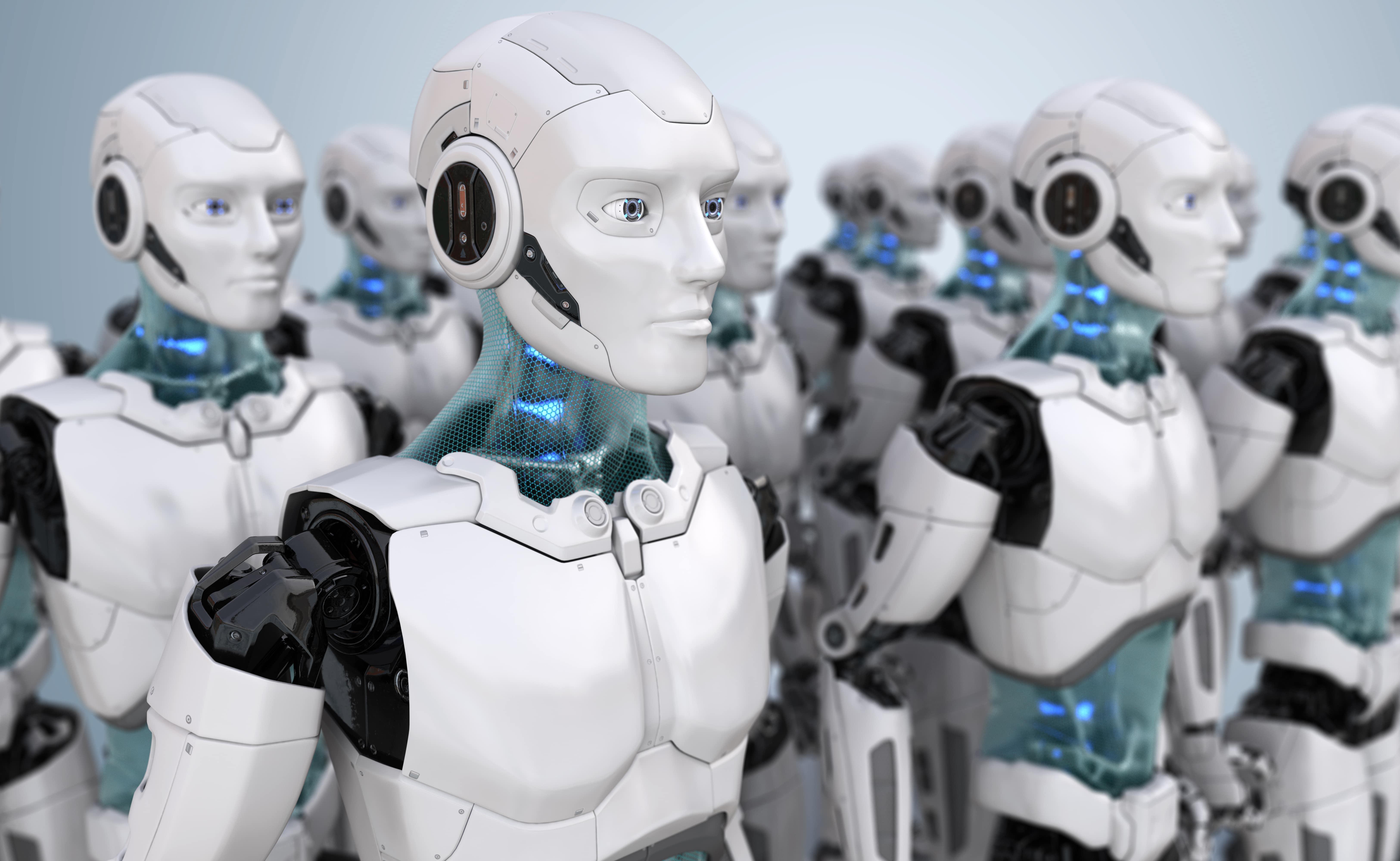 Robôs em pregão eletrônico