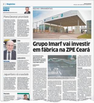 Governo lança edital de R$ 1,3 mi para cercar ZPE