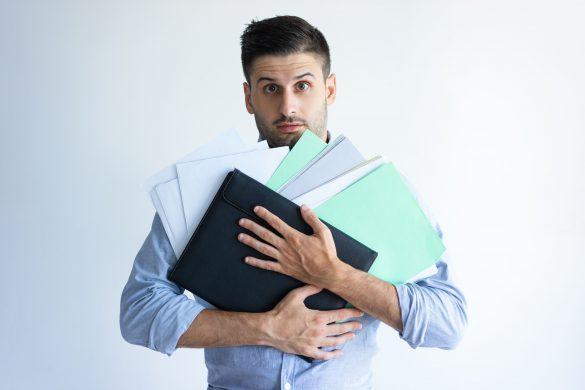 como organizar documentos para licitação