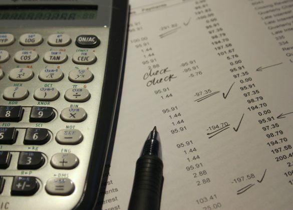 Balanço financeiro de uma empresa